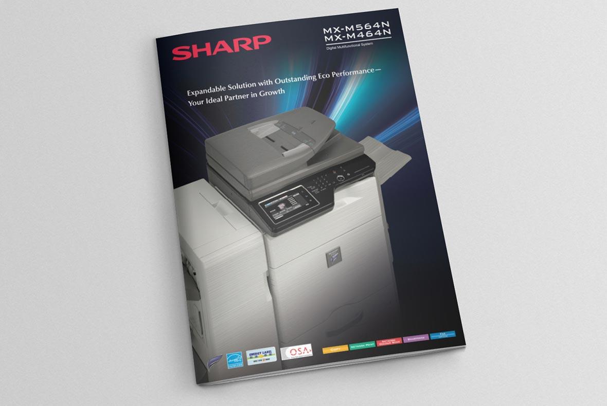 เครื่องถ่ายเอกสาร SHARP MX-M564N  มัลติฟังก์ชั่นความเร็วสูง สเป็คดี ราคาถูก 56 แผ่น/นาที 3