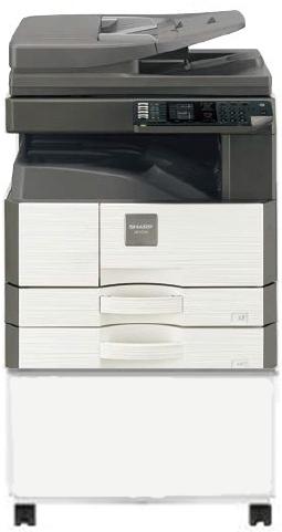 เครื่องถ่ายเอกสารสำนักงาน ดิจิตอล SHARP AR-6120N ขาว-ดำ 2ถาด COPY+SCAN+Network Print