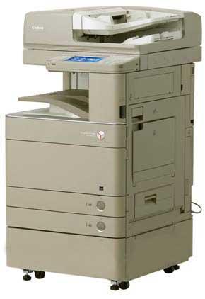 เครื่องถ่ายเอกสารสี CANON ADVANCE C5030 เครื่องสี COPY+PRINT+SCAN A3 สวยๆให้เช่า