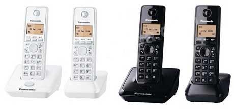 โทรศัพท์ไร้สาย PANASONIC KX-TG3552BX