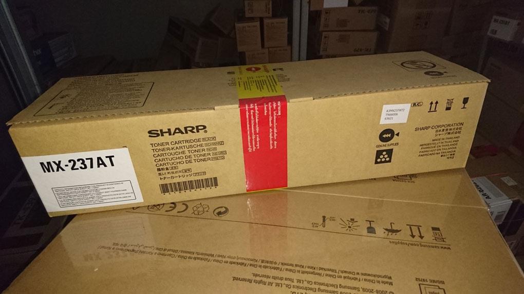 ชุดหมึกเครื่องถ่ายเอกสาร SHARP AR-6120N AR-6131N รหัสหมึก MX-237AT หมึก 23,000 แผ่น