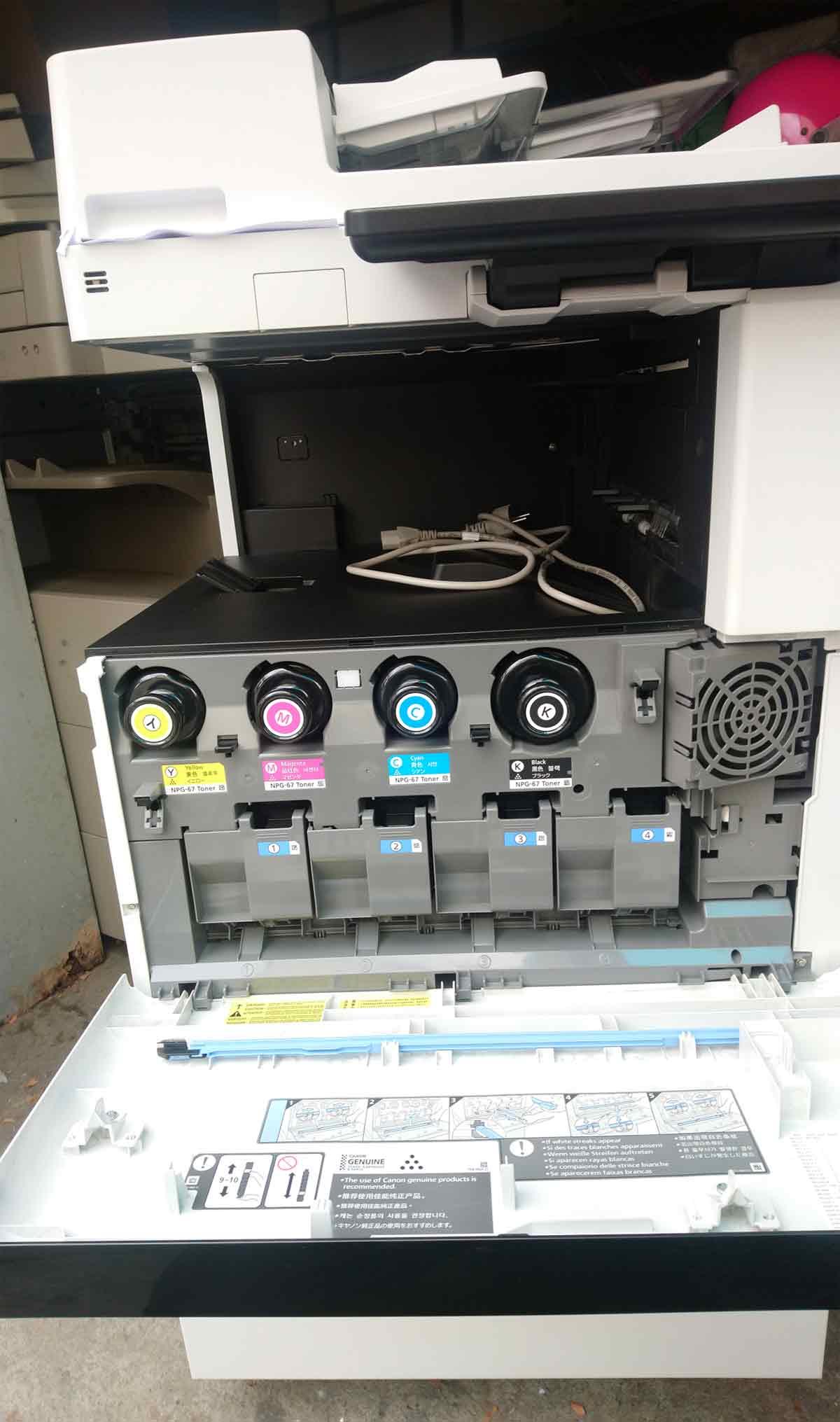 เครื่องถ่ายเอกสารสีมือสอง CANON Advance C3525i รุ่นใหม่ชนห้าง มิเตอร์น้อยมาก 2