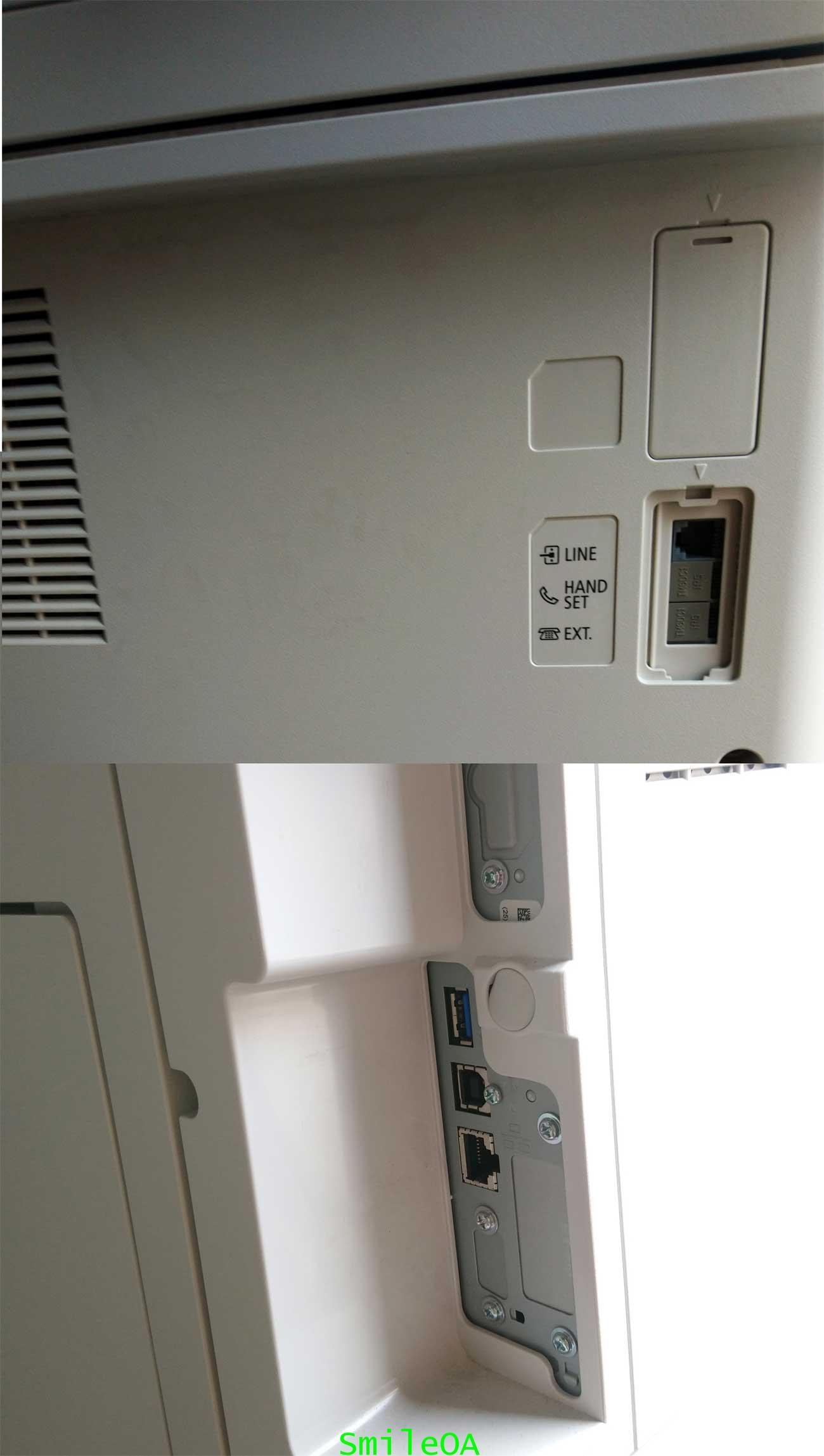 เครื่องถ่ายเอกสารสีมือสอง CANON Advance C3525i รุ่นใหม่ชนห้าง มิเตอร์น้อยมาก 3