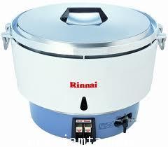 หม้อหุงข้าวแก๊ส 10 ลิตร ยี่ห้อRinnaiรุ่นRR-55aเหมาะสำหรับการหุงข้าวขายหรือใช้ในโรงอาหารหรือต้องการหุ