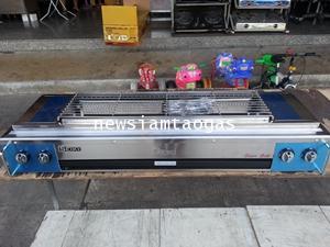 เตาปิ้งย่างใช้แก๊ส LPG 4หัวเตาราคาถูกรุ่น IG-200 ยี่ห้อ SEIKI โครงสร้างสเตนเลส ปิ้งได้มากและเร็ว