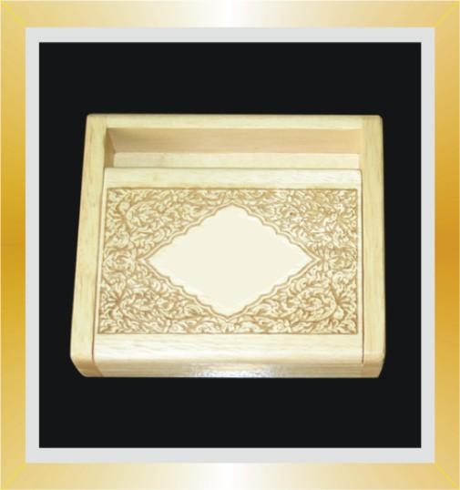 กล่องนามบัตรไม้