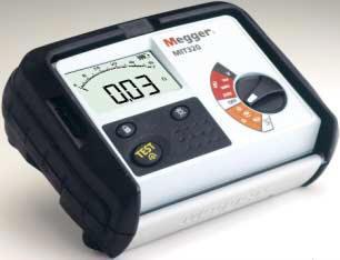 เครื่องมือวัดความต้านทานและความนำTester, insulation continuity, digital, 250V, 500V, 1000V, Megger M