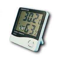 เทอร์โมไฮโกมิเตอร์ นาฬิกา วัดอุณหภูมิ ความชื้น
