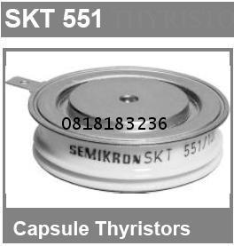 THYRISTORS MODEL SKT551/16E ,SKT551/18E