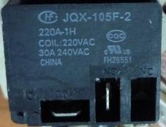 รีเลย์ JQX-105F-2 COIL 220VAC