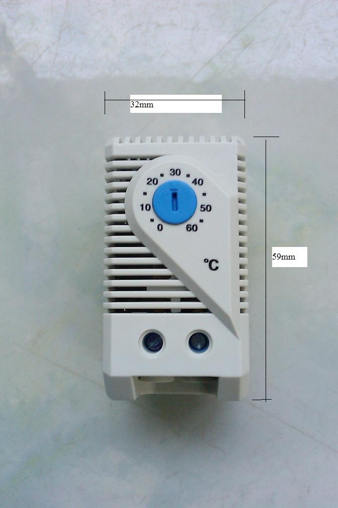 เทอร์โมสตัส ควบคุมความเย็น  อุณหภูมิของ ห้อง ตู้คอนโทรล ตู้ระบบไฟฟ้า