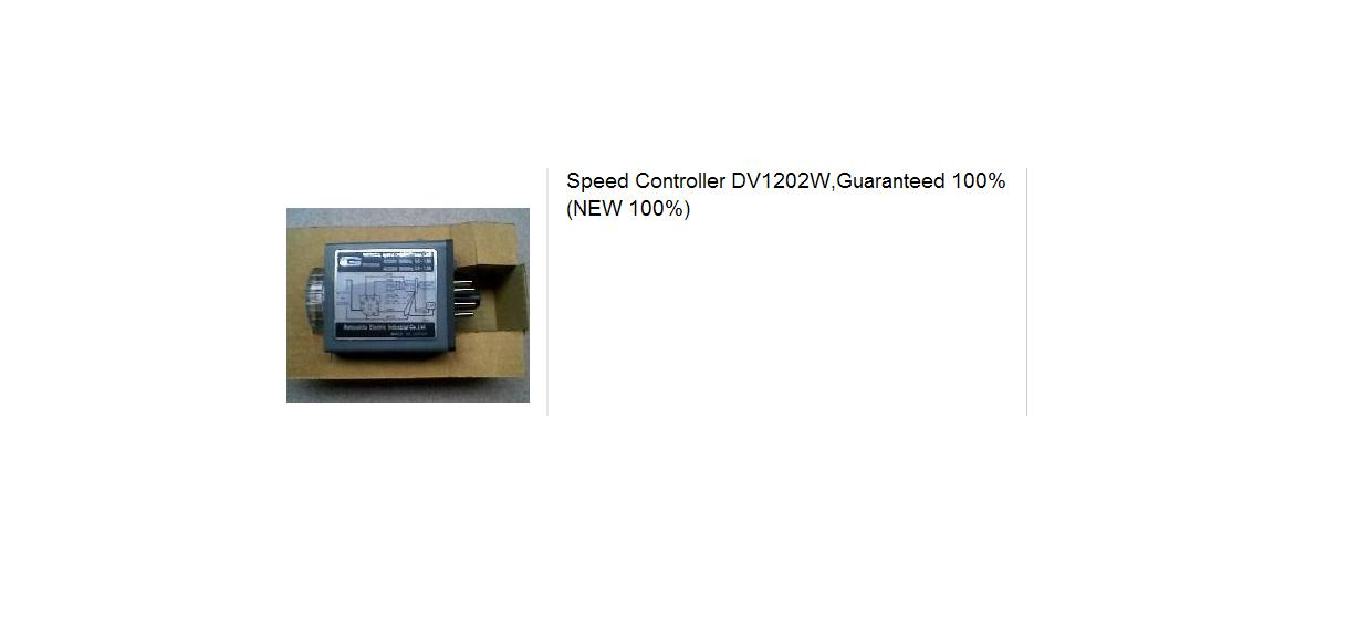 Speed Controller DV1202W,Guaranteed 100(NEW 100)