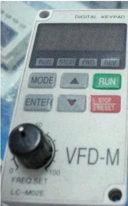 Delta Digital Keypad Operation Panel VFD-M LC-M02E