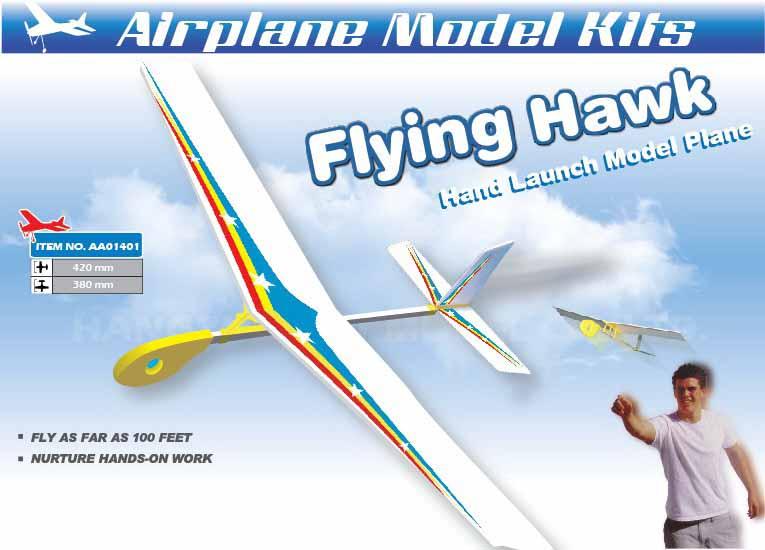 HF-022 FLYING HAWK HAND GLIDER