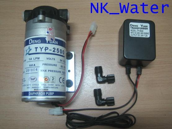 ปั๊มอัดเมมเบรน เด้ง หยวน Pump Deng Yuan 2500  24 VDC