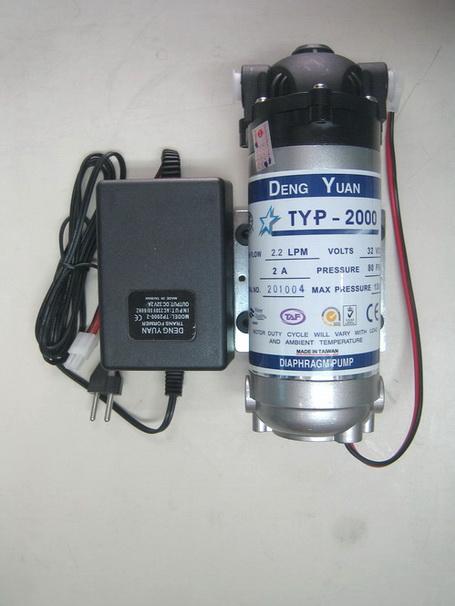 ปั๊มอัดเมมเบรน Pump Deng Yuan 2000 48 VDC