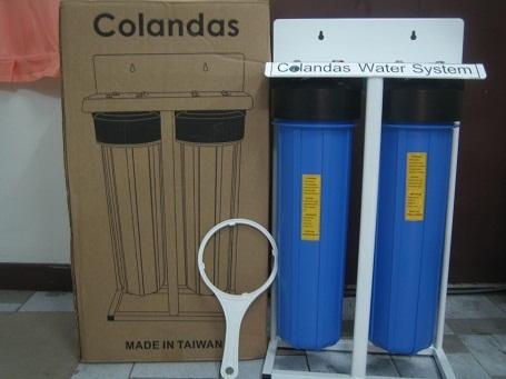 เครื่องกรองน้ำใช้ บิ๊กบลู big blue 2 ขั้นตอน โคลันดาส(Colandas)