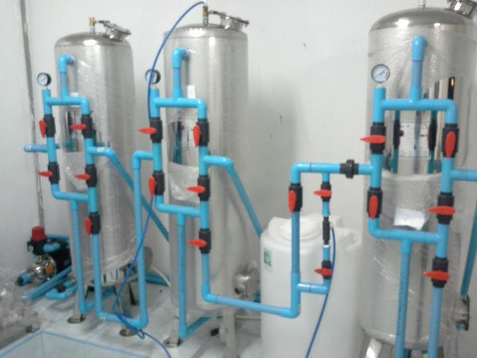 ชุดติดตั้งโรงผลิตน้ำดื่มอาร์โอ RO. 6000 ลิตรต่อวัน (ติดตั้งทั้งระบบ)