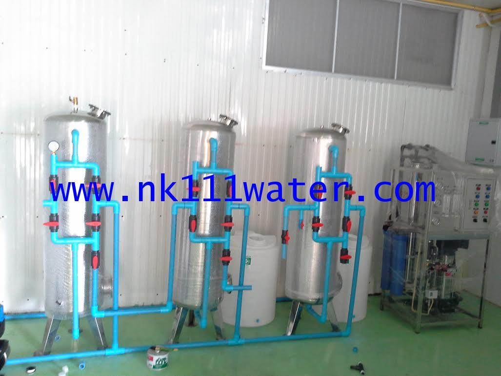 ชุดติดตั้งโรงผลิตน้ำดื่มอาร์โอ RO. 12000 ลิตรต่อวัน 12Q (ติดตั้งทั้งระบบ)