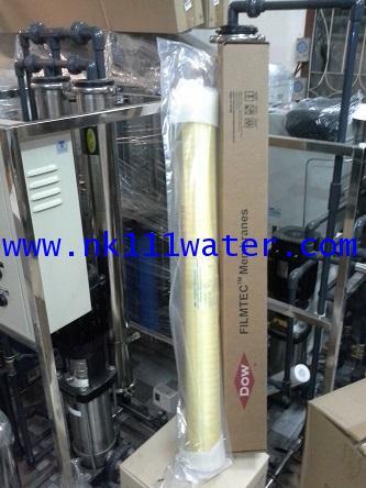 ไส้กรองเมมเบรนอาร์โอ RO. อุตสาหกรรม ยี่ห้อ ฟิล์มเทค Filmtec BW30-4040