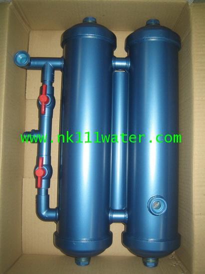 เครื่องกรองน้ำใช้ พีวีซี PVC 2 ท่อ