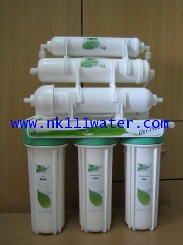 เครื่องกรองน้ำ 6 ขั้นตอน เซรามิค Uni-Pure Ceramic