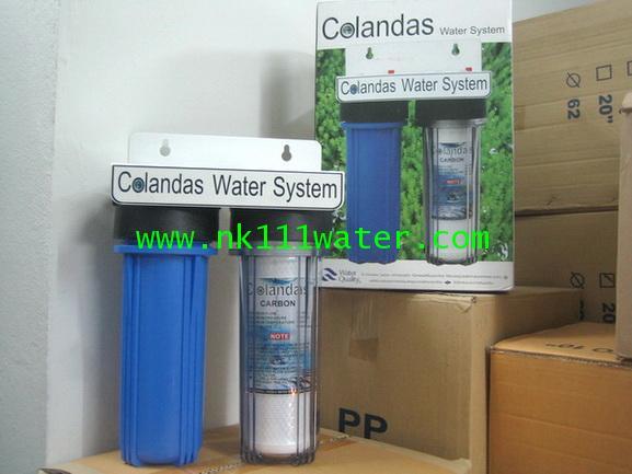 เครื่องกรองน้ำใช้ 2 ขั้นตอน ถนอมผิว โคลันดาส Colandas : SKIN CARE WATER FILTER