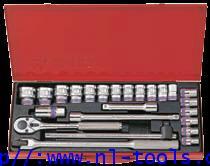 ชุดบล็อก Kingtony 1/2 นิ้วหรือ 4 หุน 12 เหลี่ยม 4026MR,24ตัวชุด(เครื่องมือช่าง)