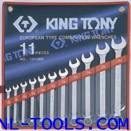 ประแจแหวนข้าง,Kingtony 1211MR 11ตัวชุด(เครื่องมือช่าง)