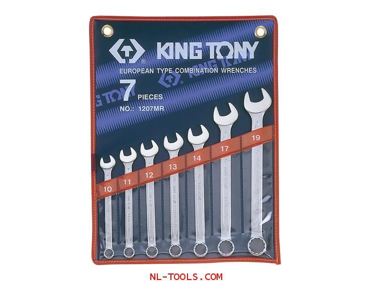 ประแจแหวนข้าง,Kingtony 1207MR 7ตัวชุด(เครื่องมือช่าง)