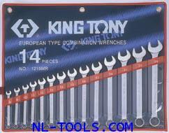 ประแจแหวนข้าง,Kingtony 1214MR 14ตัวชุด(เครื่องมือช่าง)