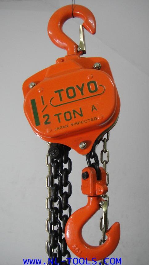 รอกโซ่สาว TOYO , 1.5 TON โซ่ยก ยาว 3 เมตร(รอกโซ่)(เครื่องมือช่าง)(KVMV) 6