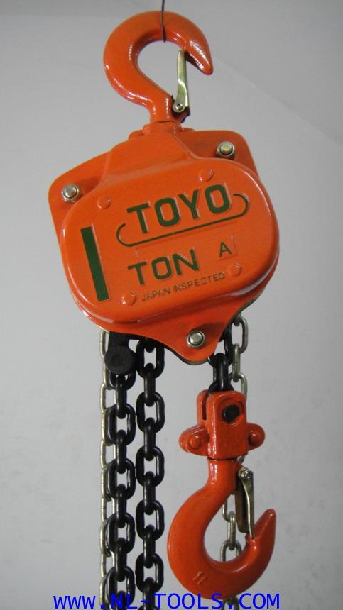 รอกโซ่สาว TOYO, 1 TON โซ่ยกยาว 6 เมตร (รอกโซ่)(เครื่องมือช่าง)(KJOV) 7