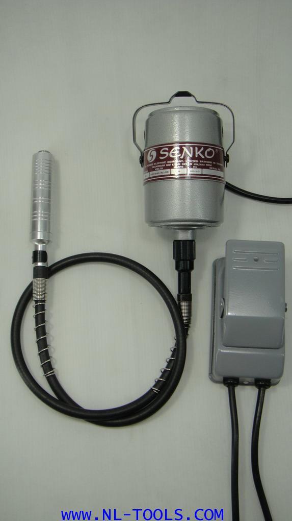 เจียรไฟฟ้าสายอ่อนแบบเท้าเหยียบ SENKO จับแกน 0.1-4 mm.ไต้หวัน(KJW)(เจียรไฟฟ้า) (เครื่องมือช่าง)