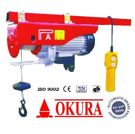 รอกสลิงไฟฟ้า OKURA รุ่น PA3-1200H  (เครื่องมือช่าง)(DTMV)