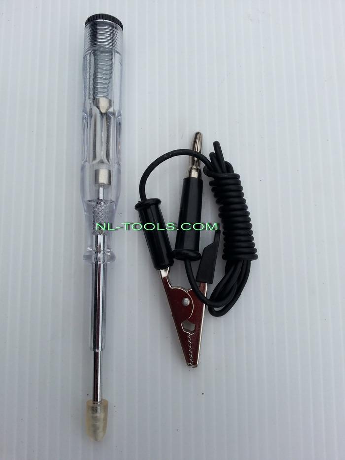 ไขควงวัดไฟแบตเตอร์รี่ 6V- 24 V SOLO NO.199 (เครื่องมือช่าง)