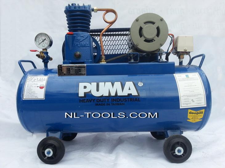 ปั้มลม PUMA รุ่น PP–1P  ไต้หวัน ขนาด ¼ HP ความจุ 36 ลิตร(MVW)(เครื่องมือช่าง)
