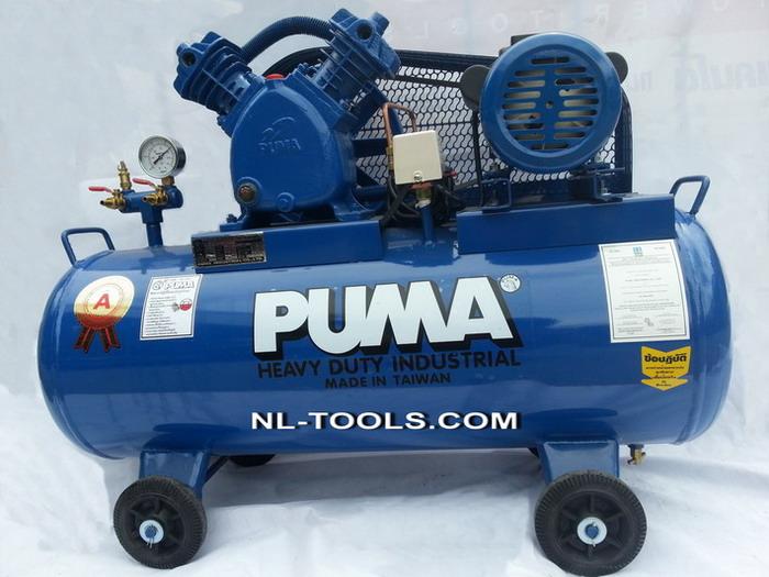 ปั้มลม PUMA รุ่น PP–2  ไต้หวัน ขนาด ½ HP ความจุ 64 L (DMW)(เครื่องมือช่าง)