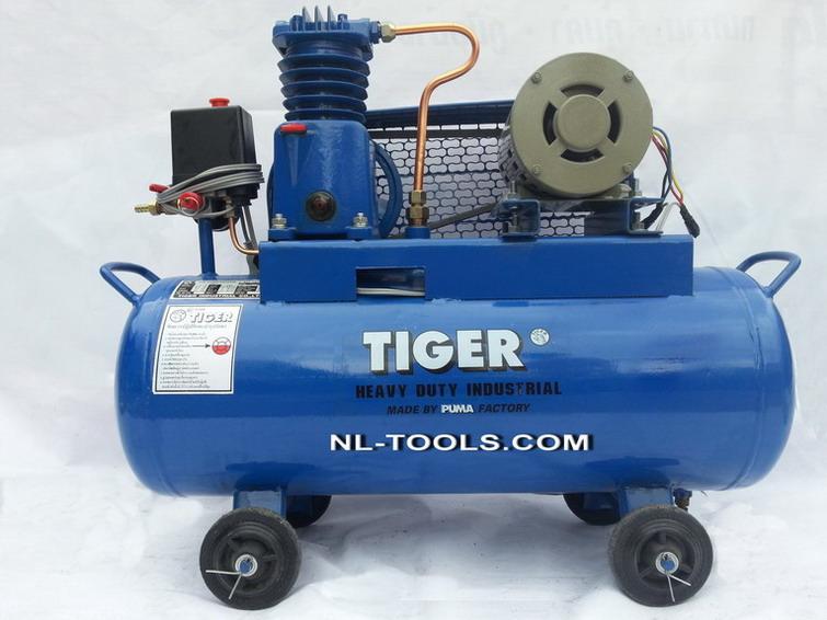 ปั้มลม TIGER รุ่น TG–2 ขนาด ½ HP ความจุ 64 L(IDW) (เครื่องมือช่าง)