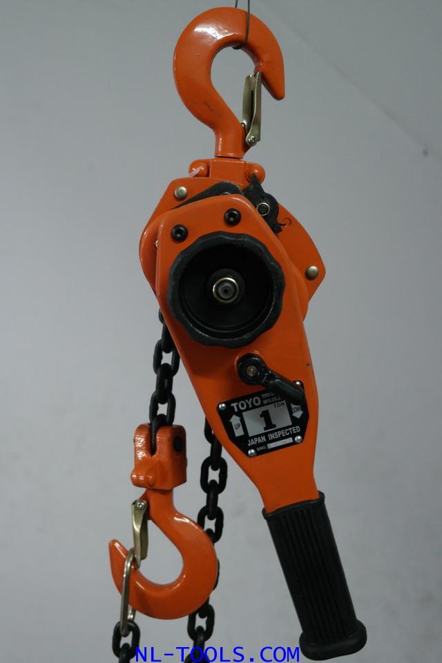 รอกโซ่แบบโยก,กำมะลอ TOYO, 3 TON โซ่ยกยาว 1.5 เมตร (รอกโซ่)(เครื่องมือช่าง)(OTW)