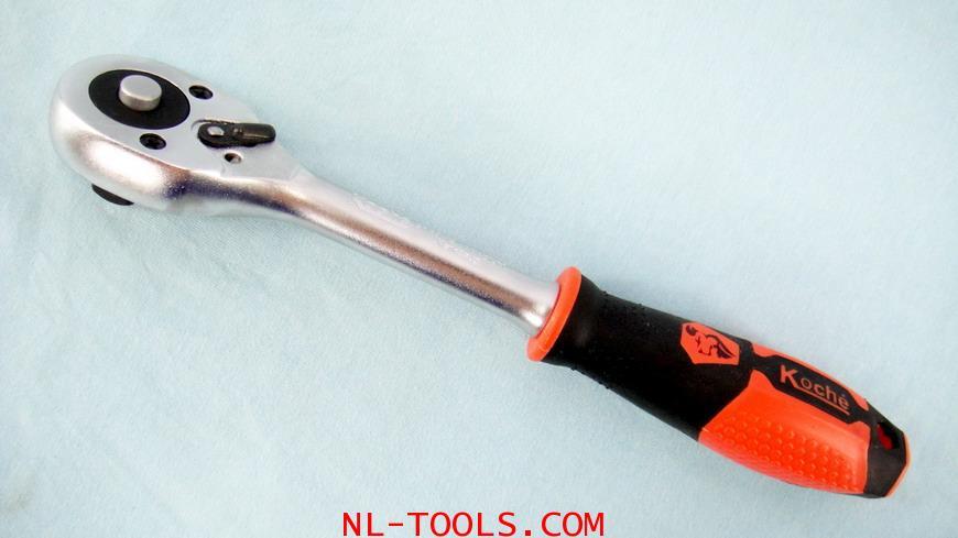 ด้ามขันฟรี,ก็อกแก็ก,Ratchet koche 1/2 นิ้ว,4หุน (เครื่องมือช่าง)(KNV)