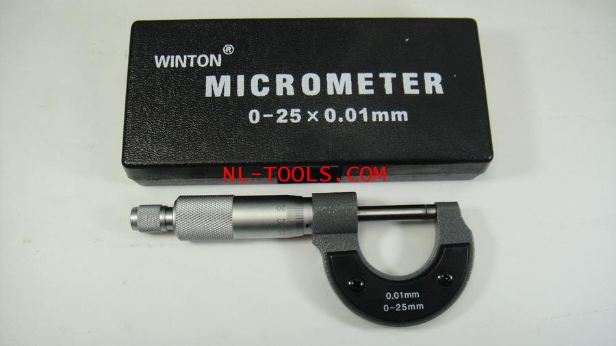 ไมโครมิเตอร์winton 0-25mm (วัดระยะ)(เครื่องมือช่าง)(KNV)