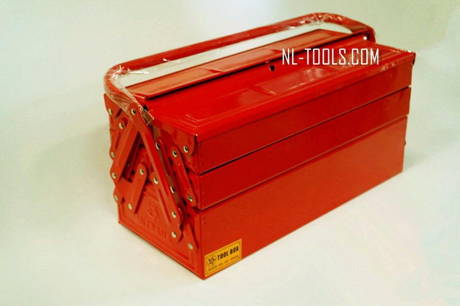 กล่องใส่เครื่องมือเหล็ก 3 ชั้น MITSANA (เครื่องมือช่าง)