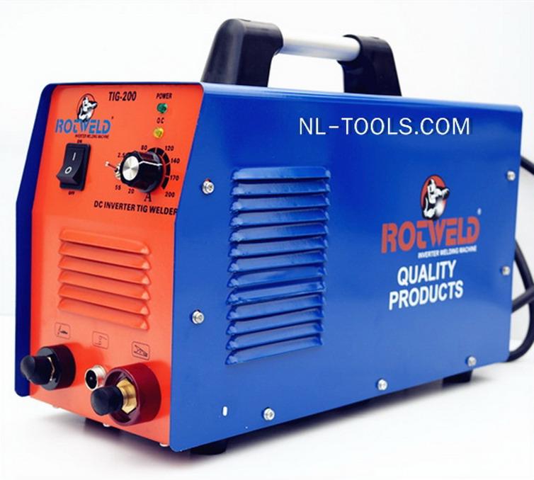 ตู้เชื่อมTIG 2ระบบ ยี่ห้อ ROTWELD  รุ่น  TIG-200A รับประกัน3ปี (เครื่องมือช่าง)(IWV)