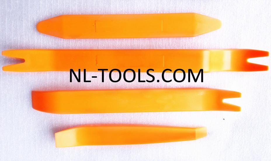 ชุดงัดกิ๊ฟ แผงคอนโซลรถยนต์ 4 ชิ้น/ชุด (ชุดเล็ก)(NV)(เครื่องมือช่าง)