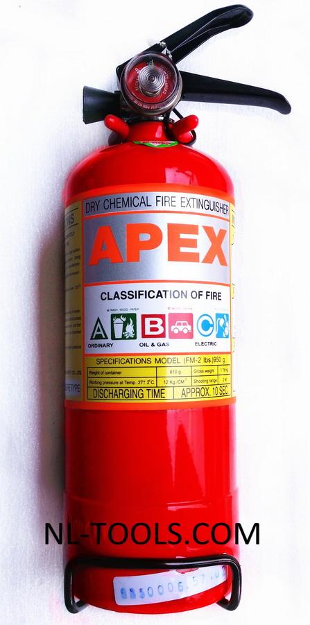 ถังดับเพลิพร้อมขาตั้ง APEX (เครื่องมือช่าง)(MW)