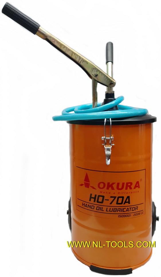 ถังเติมน้ำมันเกียร์มือโยก ยี่ห้อ OKURA รุ่น HO-70A (เครื่องมือช่าง)(JNMV)