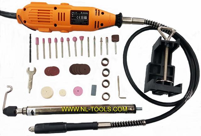 เจียรไฟฟ้า,เจียรนัยไฟฟ้าสายอ่อน OKURA BSG 135จับแกน 3 mm. (NKV)(เจียรไฟฟ้า)(เครื่องมือช่าง)