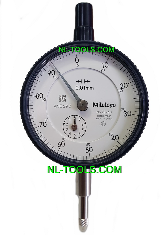 ไดอัลเกจ Mitutoyo japan 0-10mm (วัดระยะ)(เครื่องมือช่าง)(PMV)