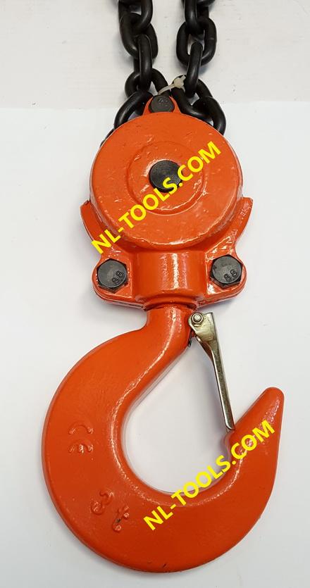 รอกโซ่สาว TOYO , 3 TON แบบทด โซ่ยกยาว 3 เมตร(รอกโซ่)(เครื่องมือช่าง)(KDW) 4